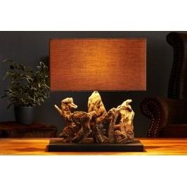Stolná lampa ARAGON - hnedá