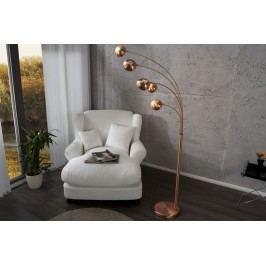 Stojaca lampa FIWE - medená