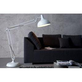 Stojaca lampa LOFT - biela