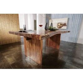 METALL Stôl 230x110 lakovaný akácia