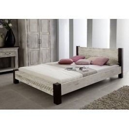 ANTIK posteľ 140x200 mango, akácia