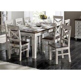 ANTIK jedálenský stôl mango 210x100 cm