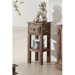 CASTLE príručný stolík olejovaný palisander