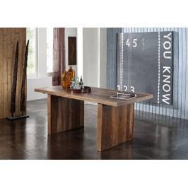 BARON Sheesham jedálenský stôl 220x100, masívne palisandrové drevo #104