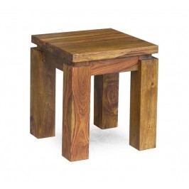 DAKOTA Masívny indický palisander, príručný stolík #166