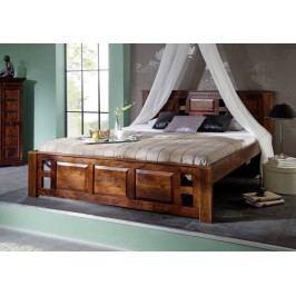 CLASSIC CAMBRIDGE  Koloniálna posteľ 180x200 masívny akáciový nábytok