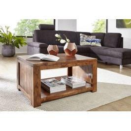 KOLINS konferenčný stolík akácia, medová 90x60 cm