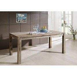 GREY WOOD Sheesham jedálenský stôl 160x90, masívne palisandrové drevo