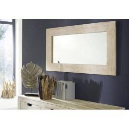 WHITE WOOD zrkadlo maľovaný akáciový nábytok
