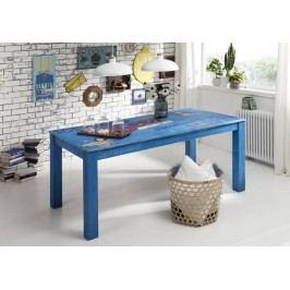 PAINTY jedálenský stôl 140x90cm lakované mango, vintage