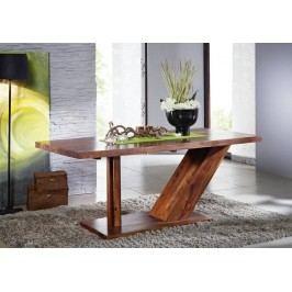 BARON Sheesham stôl 220x100, masívny palisander