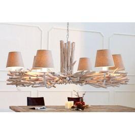 Závesná lampa EUFORIA - béžová