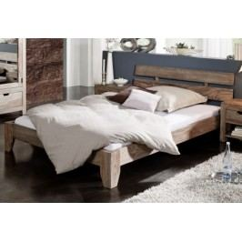 GREY WOOD Masívna posteľ 160x200 indický palisander