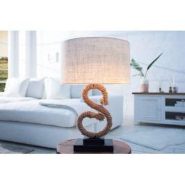 Stolná lampa SEASS 50 cm - hnedá
