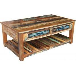 OLDTIME Konferenčný stolík 140x80cm indické staré drevo, lakované