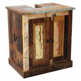 OLDTIME BAD Skrinka pod umývadlo indické staré drevo