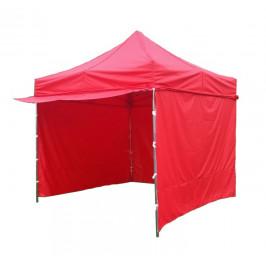 Záhradný párty stan PROFI STEEL 3 x 3 - červená