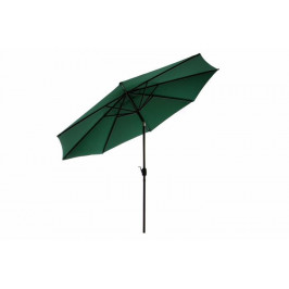 Slnečník ø 290 cm - zelený s kľučkou