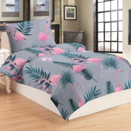 Posteľné obliečky MICRO - Flamingo grey