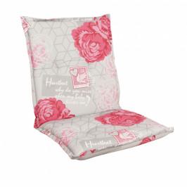 Sedák na nízke kreslo NAXOS NIEDRIG kvety 30367-340