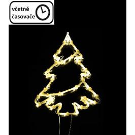 Vianočná dekorácia na okno - 35 LED, strom