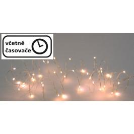 Vianočné LED osvetlenie 4 m - 40 LED, teplá biela