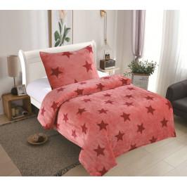 Posteľné obliečky MICRO - Stars ruže