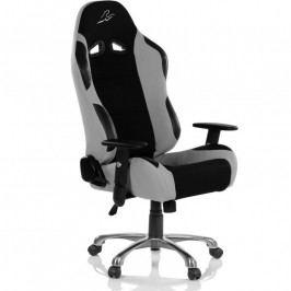 Kancelárska stolička RACEMASTER RS Series - čierna/sivá