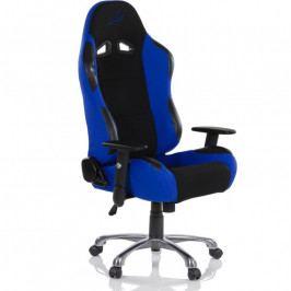 Kancelárska stolička RACEMASTER RS Series - čierna/modrá