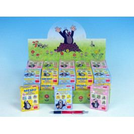 Minipexeso Krtek 6,5x9cm společenská hra v papírové krabičce - 4 barvy