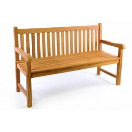 Záhradná lavica DIVERO 3-miestna, masív 150 cm