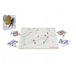 Biatlonmánie společenská hra v krabici 29x35x7,5cm