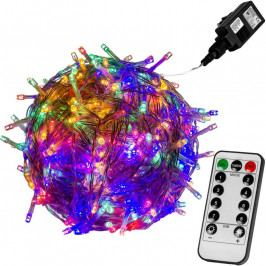 Vianočné LED osvetlenie 5 m - farebná 50 LED + ovládač