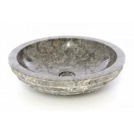 umývadlo z prírodného kameňa šedej