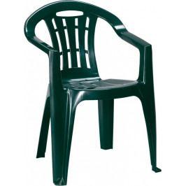 Záhradná stolička MALLORCA – tmavozelená