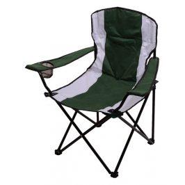 CATTARA Kempingová skladacie stoličky černá s držákem na pití DUBLIN 110kg, 2,3kg