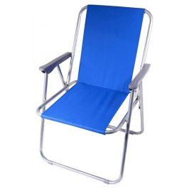 CATTARA Kempingová záhradné skladacie stoličky modrá BERN 2kg, max 110kg