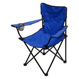 Kempingová skladacie stoličky modrá BARI CATTARA 110kg, 1,8 kg