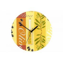 Nástenné hodiny WENKO 27 cm - oliva