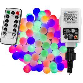 Párty LED osvetlenie 5 m - farebné 50 diód + ovládač