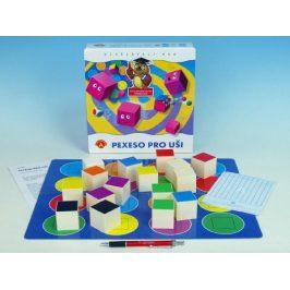 Pexeso pro uši společenská hra v krabici 24,5x25,5x6cm