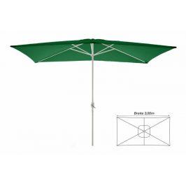 Slnečník obdĺžnikový 2 x 3 m - zelený