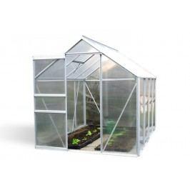 Záhradný skleník s posuvnými dverami 250 x 190 x 195 cm