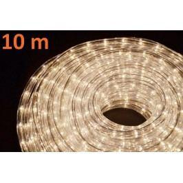 Svetelný kábel 10 m - teplá biela, 360 žiaroviek