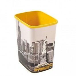 Odpadkový koš FLIPBIN 25l bez víka- NEW YORK CURVER