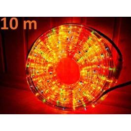Svetelný kábel - 360 minižiaroviek, 10 m, farebný