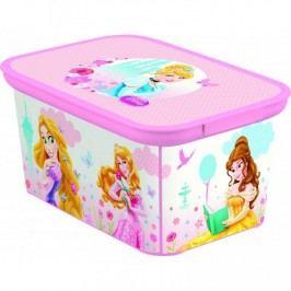 Dětský úložný box DECO - S - PRINCESS CURVER