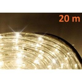 LED svetelný kábel 20 m - teplá biela, 480 diód