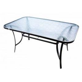 Moderný záhradný sklenený stôl Garth