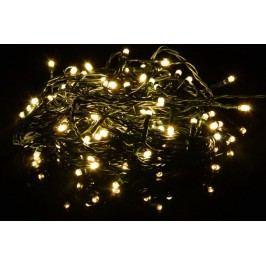 Vianočné LED osvetlenie 40 m - teplá biela, 400 LED s časovačom